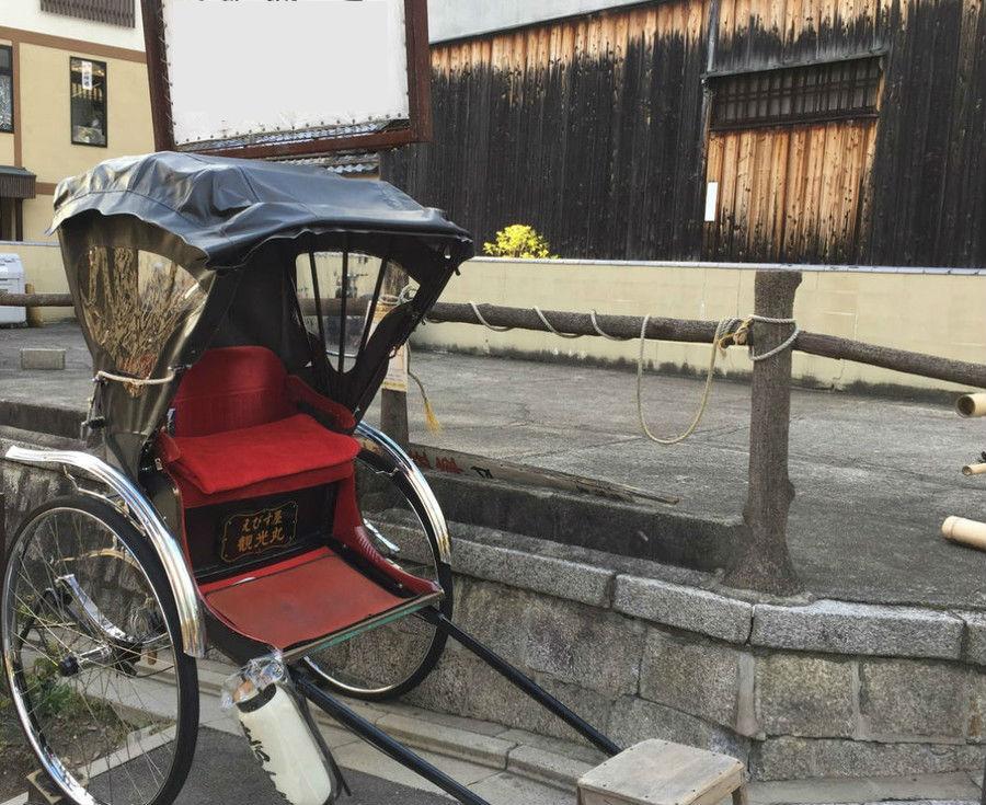 日本の伝統・人力車